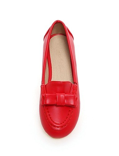 Plano Mujer Zapatos de Flats Cn34 Más De Red Colores Eu35 Pdx Redonda Disponibles Punta Talón Uk3 us5 nXfBxf5R