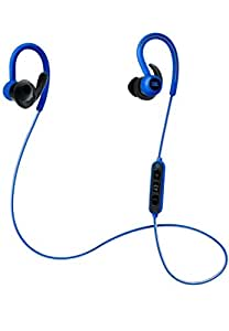 JBL Reflect Contour Sports Bluetooth Headphones with Mic and Remote in Blue