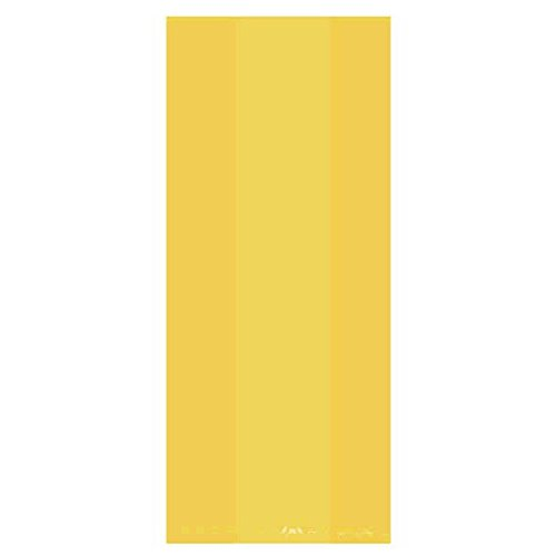 festive-small-yellow-sunshine-party-favour-and-treat-bags-11-75-x-4-3-pack-of-25