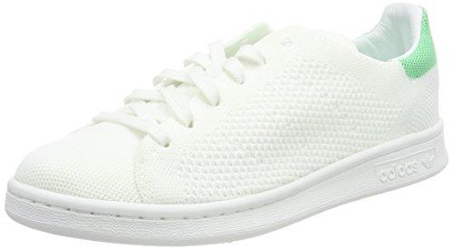 adidas Unisex-Erwachsene Stan Smith PK Turnschuhe Weiß (Footwear White/Green Glow)