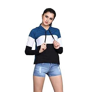RaGoHo Womens Hoodie Full Sleeves Cotton Blend Stylish T-Shirt