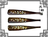 The genuine wood carving care for the elderly to care for his wife mahogany shoehorn (red diamond special sales)