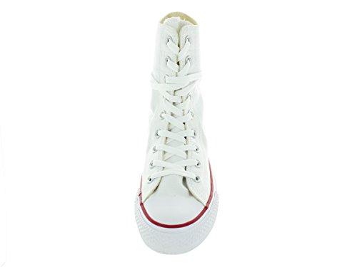 Converse Womens Chuck Taylor Hi-rise Xhi Scarpa Casual Bianco / Blu / R