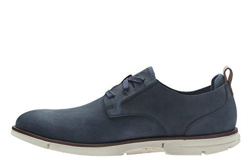 Clarks Trigen Lace, Zapatos de Cordones Derby para Hombre Azul