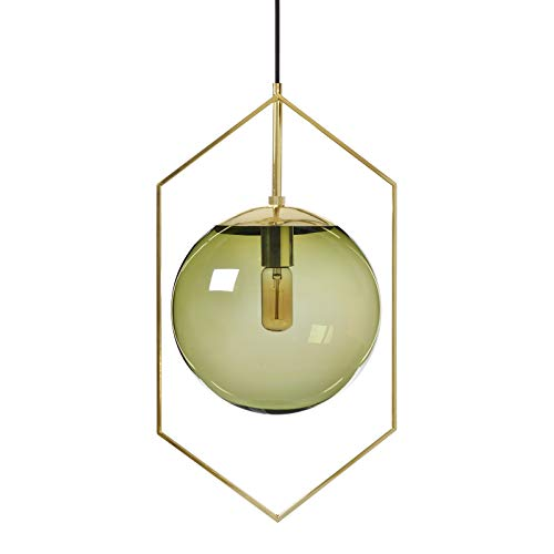 Olive Green Pendant Light in US - 1