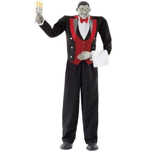 Animated Butler of Macabre Manor 6ft 11