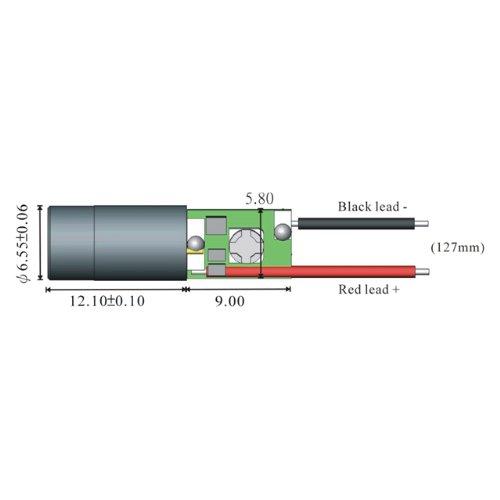Quarton Laser Module VLM-780-04 LPA (IR Economical Laser) by Infiniter (Image #1)