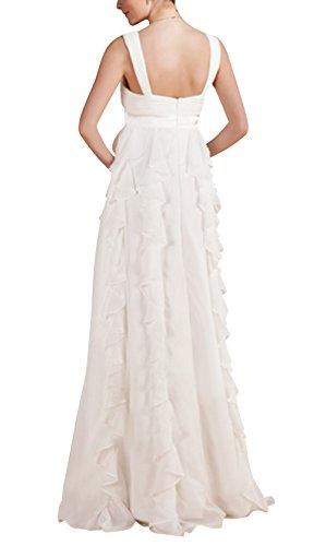 Empire neck Dress Long Women's DAPENE New Backless Evening Waist Strap V wYYRqf7