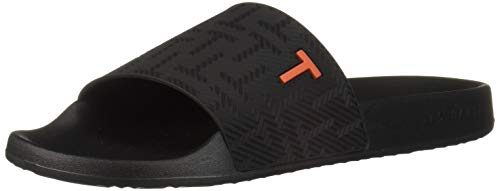 Ted Baker Men's Mastal Slide Sandal, Black, 9 Regular -