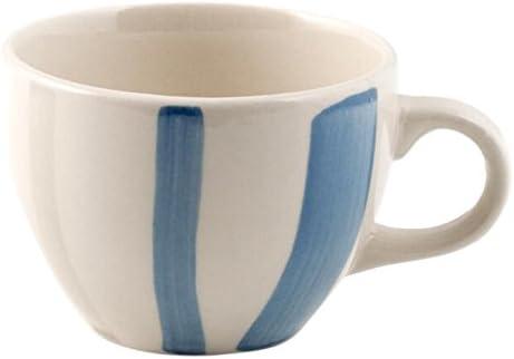 Blu//Avorio 230 ml H/&H Tazza t/è Ceramica Grigio
