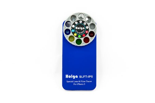 Holga iPhone 5 Lens Filter Kit SLFT-IP5 - Blue by Holga