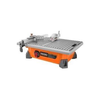 Ridgid 7 Quot Portable Job Site Wet Tile Saw 6 5 Amp Induction
