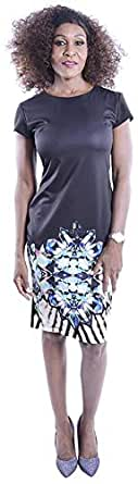 Clickonstyle Sheath Dress For Women - L, Black