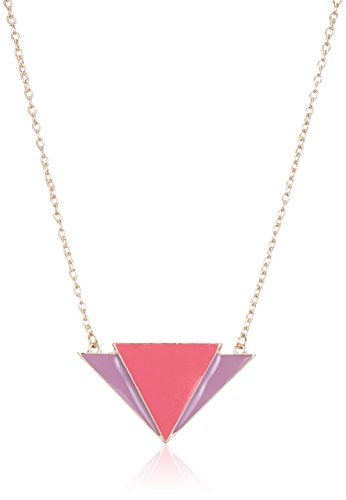 Funky Fish Fringe Necklace for Women (Red and Purple) (I-465_K7297473116632)