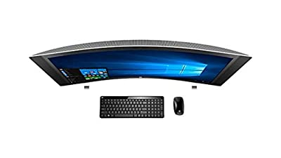 """HP ENVY 34 CURVED Desktop 1TB SSD 32GB RAM (Intel Core i7-6700K processor - 4.00GHz with TURBO BOOST to 4.20GHz, 32 GB RAM, 1 TB SSD drive, 34"""" WQHD LED (3440x1440), Win 10) PC Computer All-in-One"""