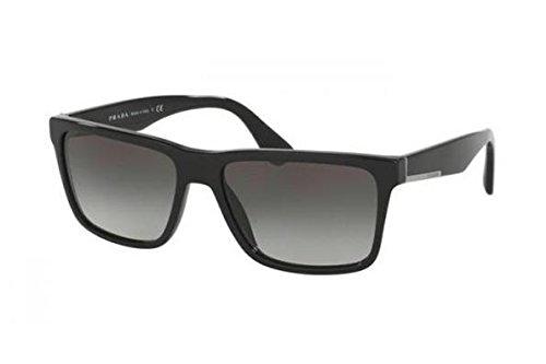 Prada Men's 0PR 19SS Black/Grey Gradient ()