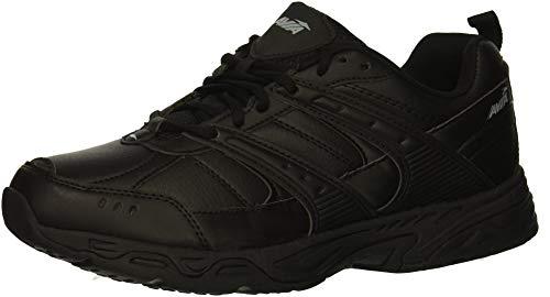 Avia Men's Avi-Verge Sneaker, Jet Black/Castle Rock, 10.5 Wide US by Avia