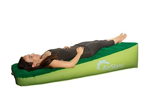 Evolution Health Airslant Inflatable inversion therapy Slant Board: New non toxic TPU, more resistant than PVC