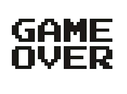 Galleon - CCI Game Over Funny Video Game Ending Decal Vinyl Sticker
