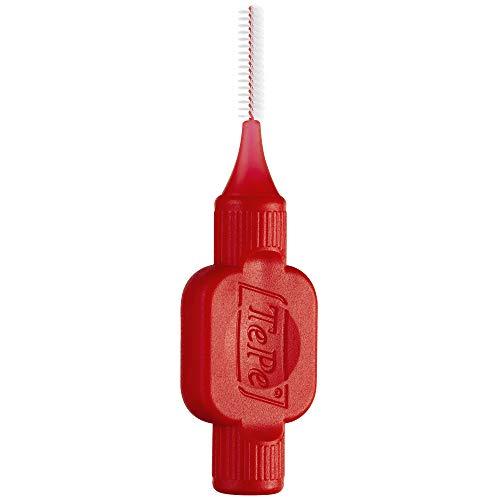 TEPE Interdental Brush Original Cleaners – Dental Brushes Between Teeth 25 Pk, Red ()
