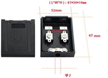 Solar Anschlussdose PV Anschluss Mit 1 Diode Für Sonnenkollektor 10W-50W 3A