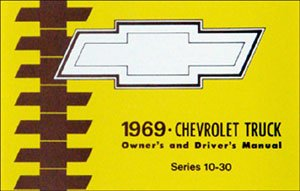 1969 Chevrolet Truck Owners Manual Chevy 69 (with (1969 Chevrolet Suburban)