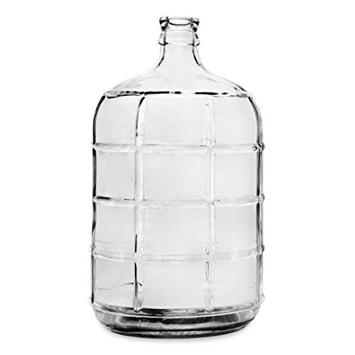 - Geo Sports Bottles 3 Gallon Round Glass Carboy fits 30mm Cork Finish or 55mm Push Cap Home Brew (Clear Glass)
