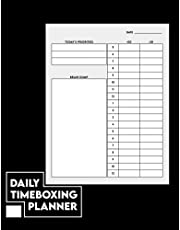 Daily Timeboxing Planner: Daily Timeblock Planner A5 - Undated, Productivity, To-Do List, TimeBoxing, Time Management, Notepad, Diary
