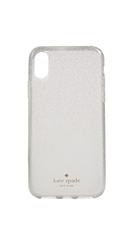 Kate Spade New York Glitter Ombre IPhone X Case, White, iPhone X