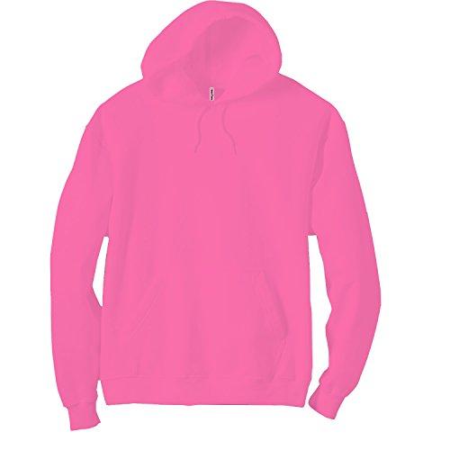 Panda Apparel Adult Neon Pullover Hooded Sweatshirt