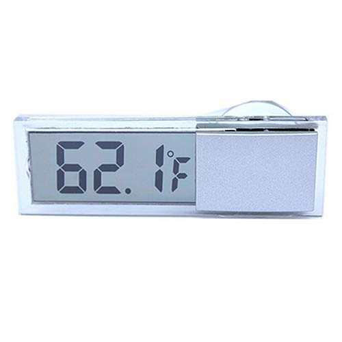 Yamalans Mini LCD Digital Temperature Meter Indoor Outdoor Suction Cup Car Auto Thermometer