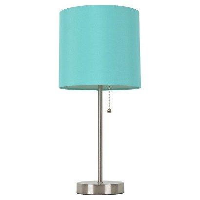 Room Essentials Stick Lamp  caribbean aqua