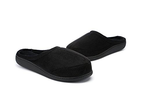 Summer Men's On Foam Memory Shoes Spring Slip Indoor Slippers House Comfort Brown Outdoor Erw4qr