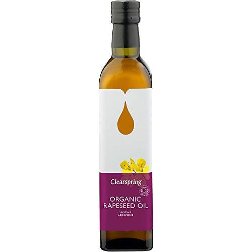 - Clearspring - Organic Rapeseed Oil - 500ml