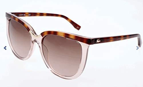 Lacoste Women's L825S Oval Sunglasses, Rose, 55 ()