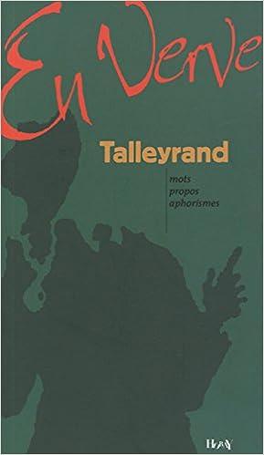 En ligne téléchargement gratuit Talleyrand epub pdf