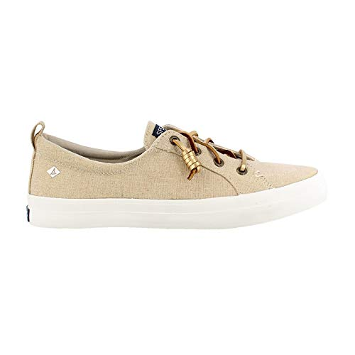Sperry Top-Sider Crest Vibe Sneaker Women 8 Gold (Gold Sperry Shoes)