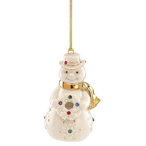 Lenox 865542 Holiday Gems Snowman Ornament