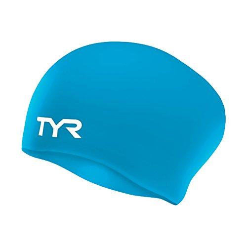 e-Free Silicone Swim Cap, Blue ()
