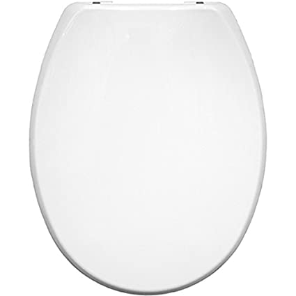 Black Bemis Buxton STAY TIGHT Toilet Seat