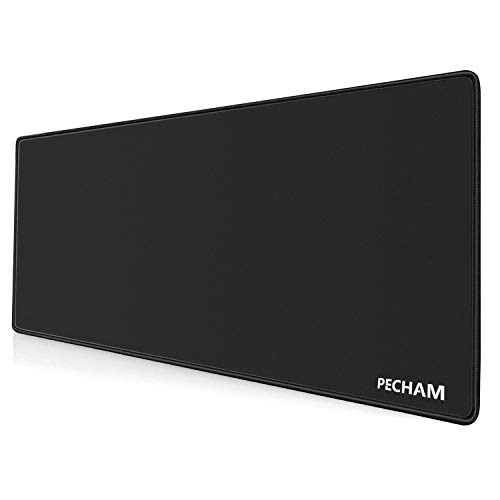 PECHAM 3mm Extended High Precise Large Gaming Mouse Pad XXXL (30.71x11.81 inch) Non-Slip Water-Resistant Computer Mouse Mat