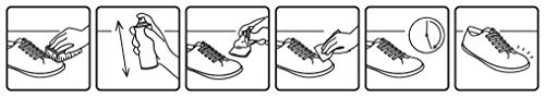 Kaps Mousse de Nettoyage pour Chaussures, nettoyant nettoyant pour Chaussures et Bottes, Tissu et Toile de Nubuck suède… 4