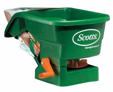 Scotts Handy Green Ii Hand-Held Broadcast Spreader by Scotts Lawns