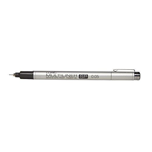 Copic Multiliner SP Black Ink Marker, 0.05 Tip