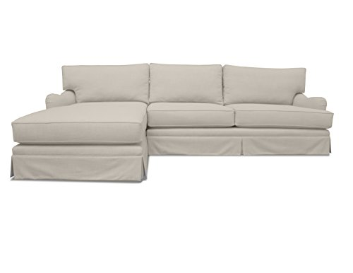 South Cone Home Milan Left Sectional Sofa, Sand