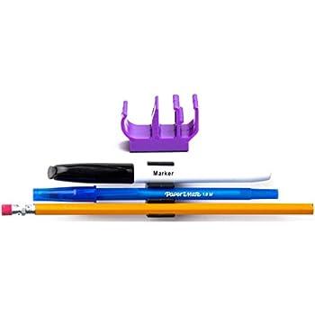 Amazon Com 10 Pk Purple Self Adhesive Pencil Pen And