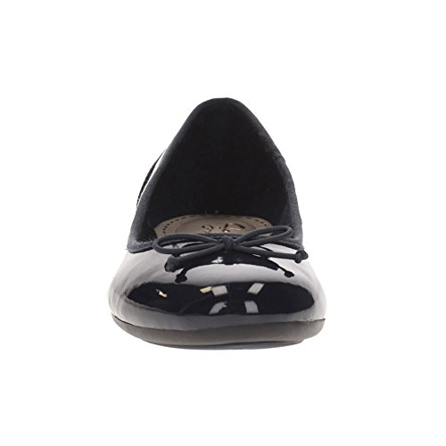 Navy para Clarks Couture Mujer Bloom Patent Bailarinas 6AAXnRBq