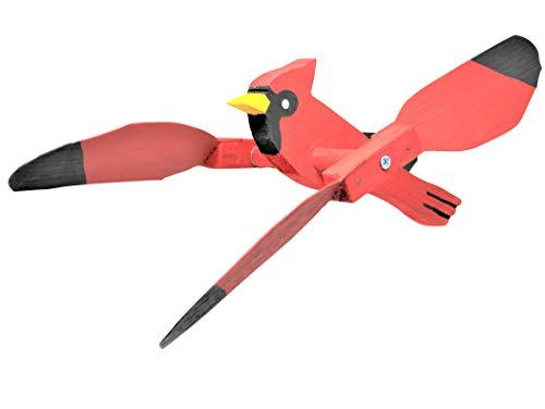 rdinal Whirlybird Garden | Hanging Spinner American Décor ()