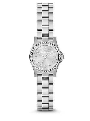 Marc by Marc Jacobs mbm3276 plata Henry Dinky Glitz señoras reloj: Amazon.es: Relojes