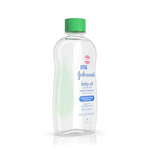 Johnson & Johnson 3332 Baby Oil, with Aloe Vera & Vitamin E (Pack of 24) by Johnson